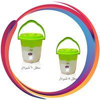 سطل شیردار