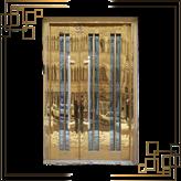 درب طلایی استیل