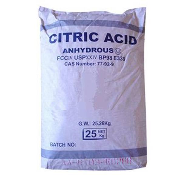 اسید سیتریک خشک چینی