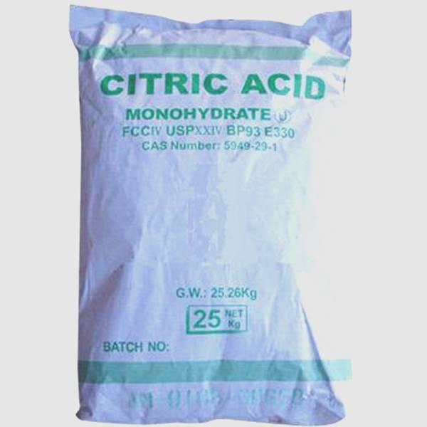 واردات اسید سیتریک خشک و آبدار چینی
