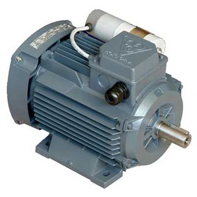 الکترو موتوژن خازن دائم تکفاز دور موتور 1500 با توان 0/25KW