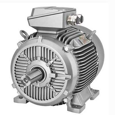 الکترو موتور زیمنس سه فاز با توان 0.18کیلووات و دورموتور 1500