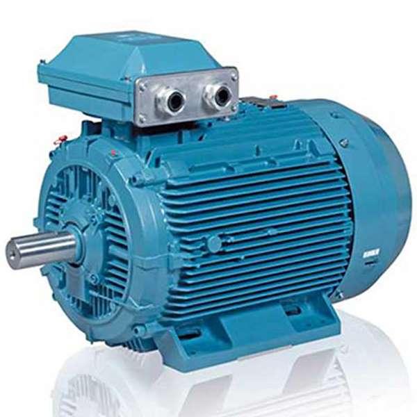 الکترو موتور اروپایی مدل M2QA سه فاز 1500 دور 0/55 کیلووات