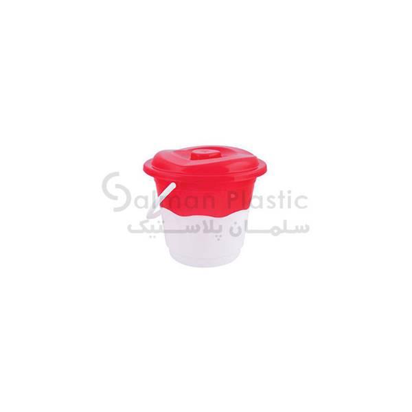 سطل ٣٢ دورنگ پلاستیکی