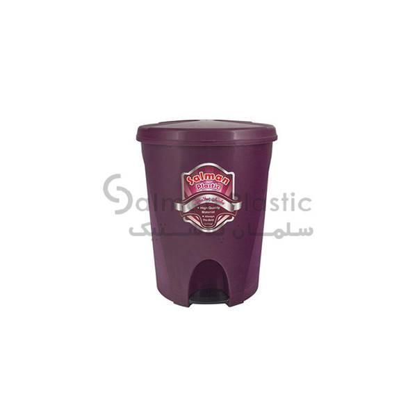 سطل پدالی ٣٨٠ گلبرگ پلاستیکی
