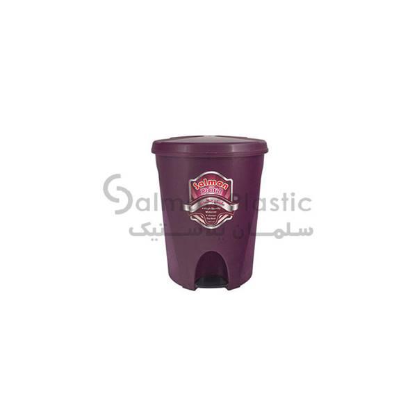 سطل پدالی ٢٨٠ گلبرگ پلاستیکی
