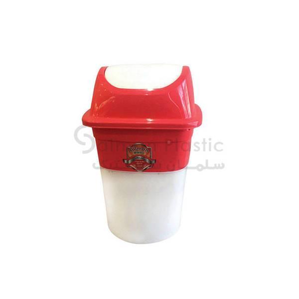 سطل بادبزنی یاس بزرگ پلاستیکی