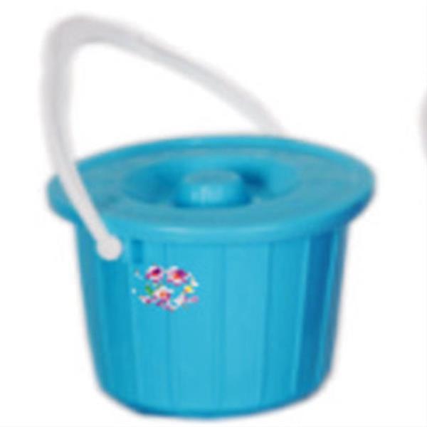 خرید سطل درب دار پلاستیکی کد 202