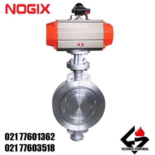 شیر-پروانه-ای-پنوماتیک-نوجیکس Nogix