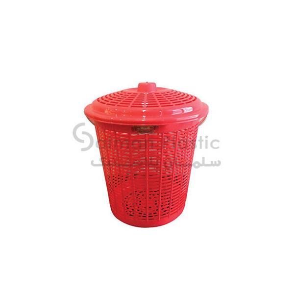 سبد چای ٣٨٠ دربدار بلند پلاستیکی
