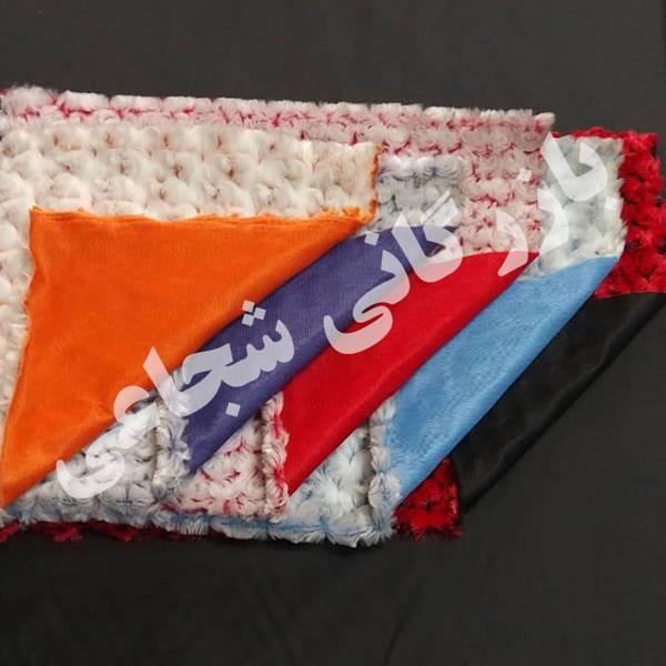 پارچه رز دو رنگ