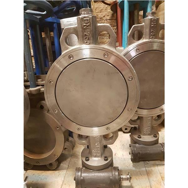 باترفلای ولو(buter fly valve) شیر پروانه ای تمام استیل