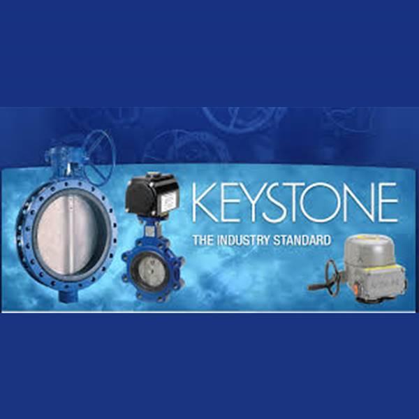 وارد کننده شیر پروانه ای کیستون keystone