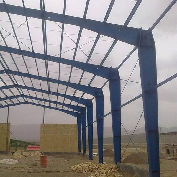 پوشش سقف سوله کارگاهی