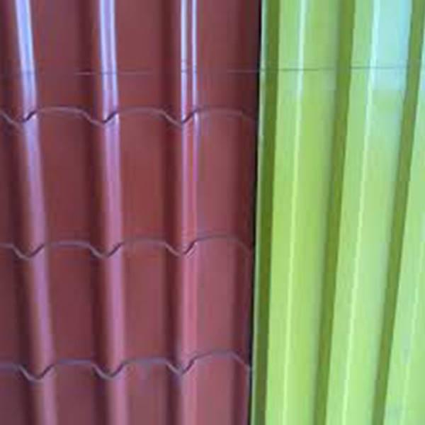 پخش کننده ورق شیروانی رنگی