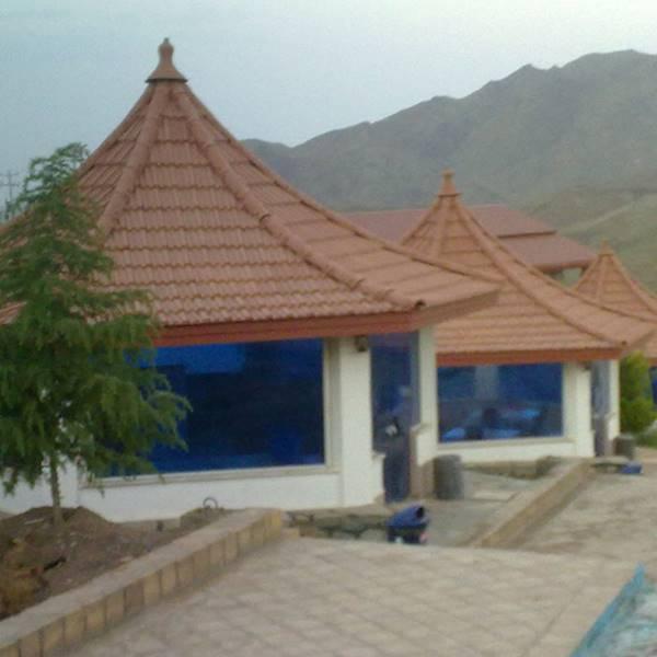 ساخت آلاچیق سقفی