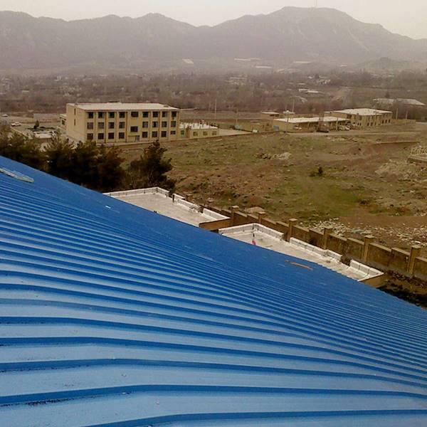 اجرای سقف های شیب دار استخر