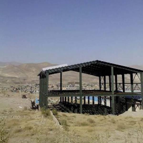 ساخت سوله با سقف شیبدار