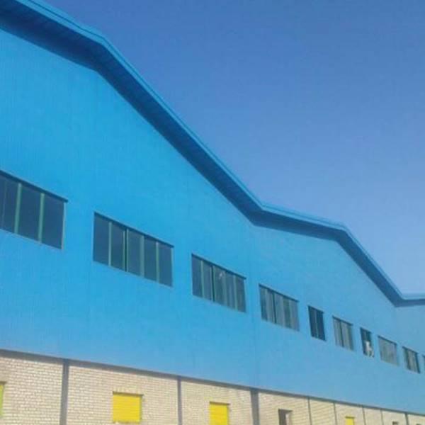 اجراکننده ورق گاالوانیزه رنگی سقف ویلایی