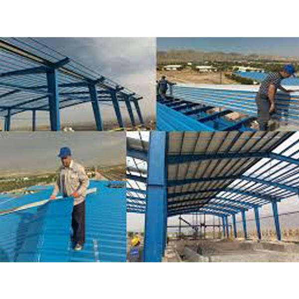 نصاب پوشش سقف سوله