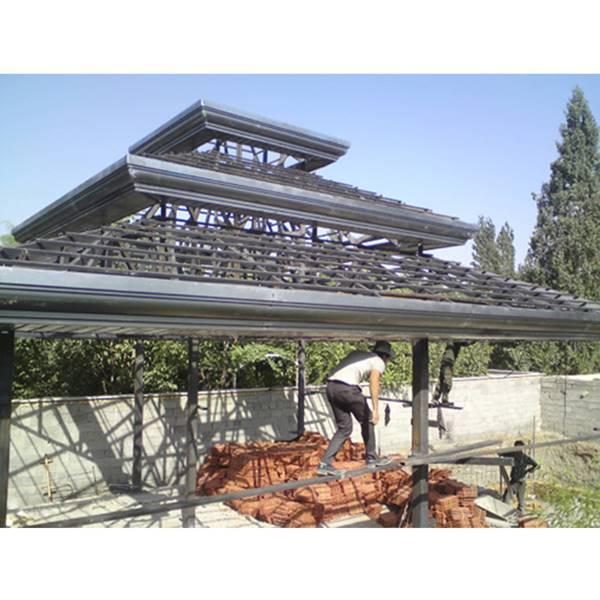 تعمیرات سقف شیروانی – اجرای سقف شیروانی