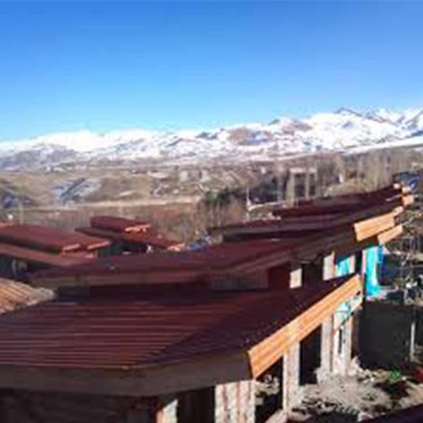 نصاب پوشش سقف شیروانی