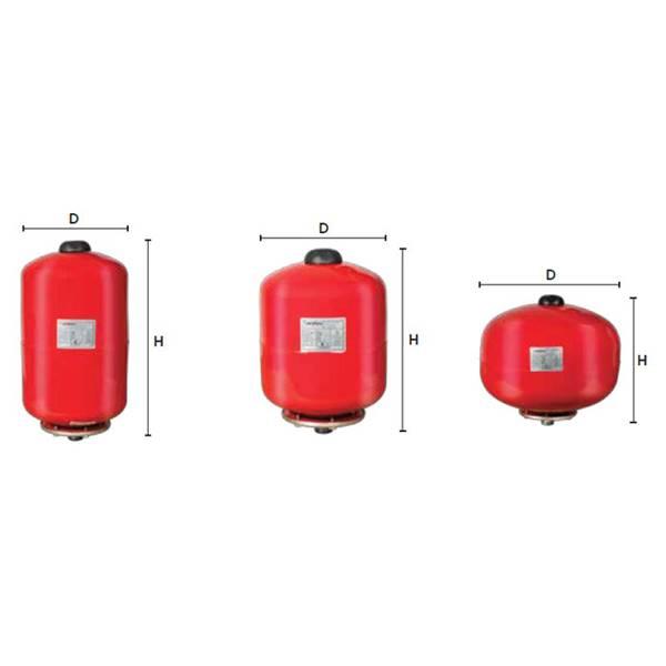منبع تحت فشار 100 لیتری