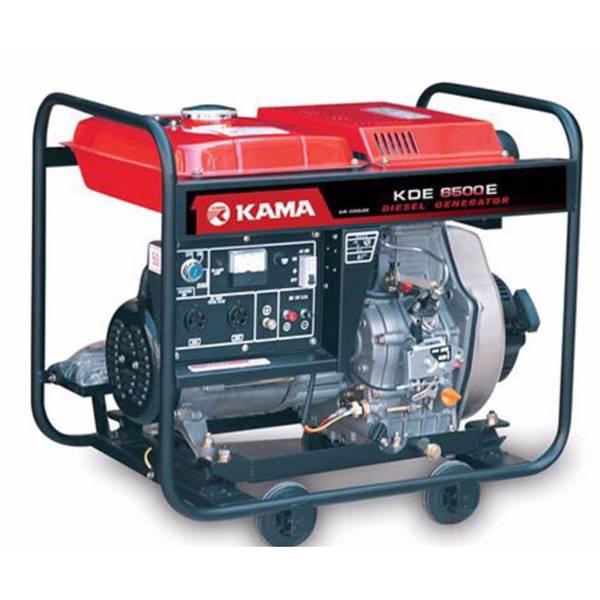 موتور برق دیزل مدل KDE 6500 استارتی