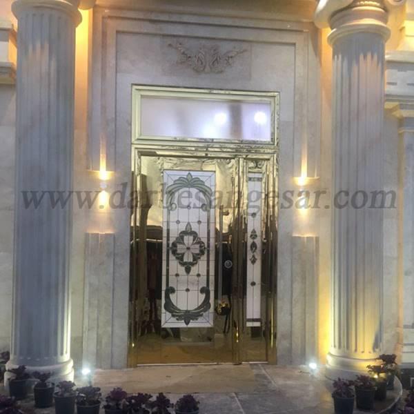 طراحی درب استنلس استیل