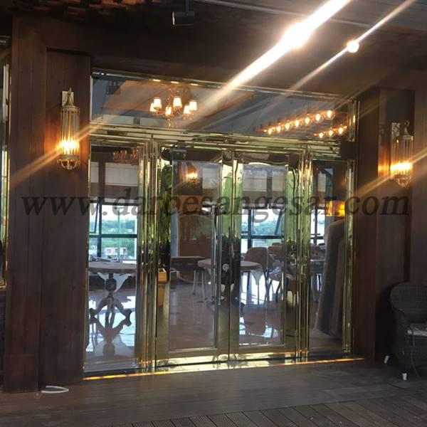 درب استنلس استیل هتل