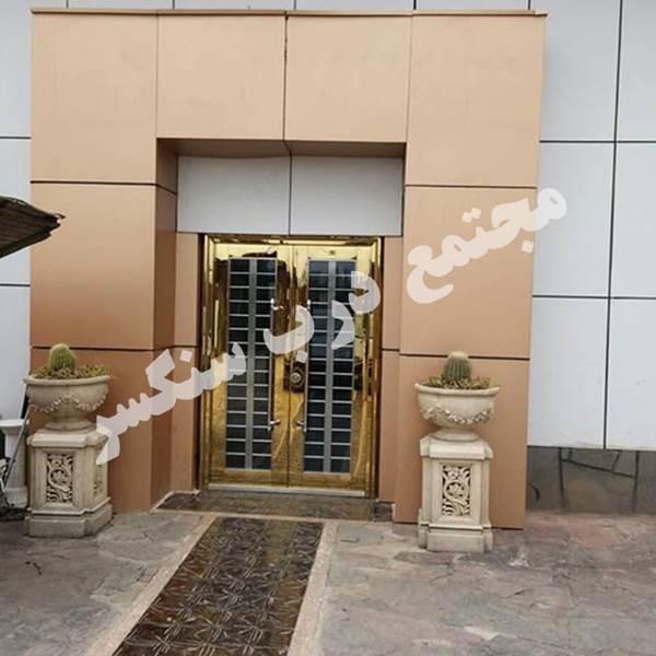 تولید کننده درب استیل در تهران