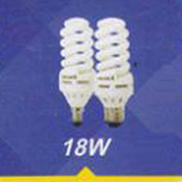 لامپ کم مصرف پیچی رنگی 18w