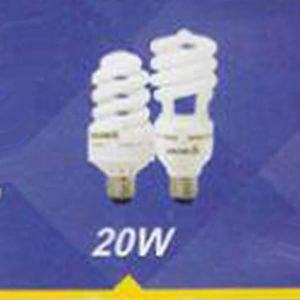 لامپ کم مصرف نیم پیچ 20w