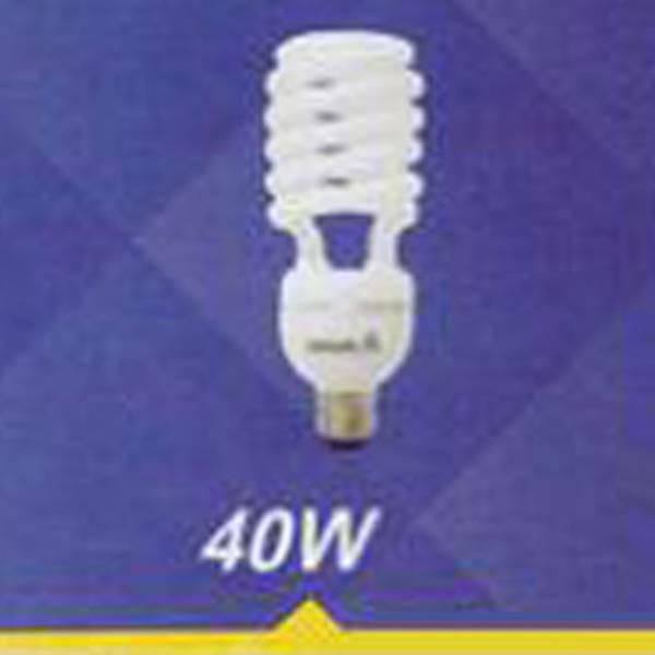 لامپ کم مصرف نیم پیچ 40w