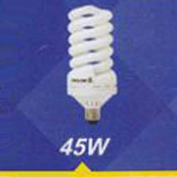 لامپ کم مصرف پیچی 45w