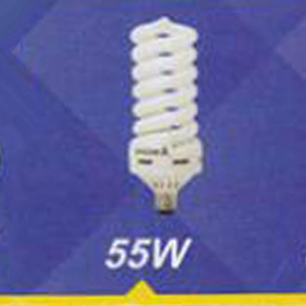 لامپ کم مصرف پیچی 55w
