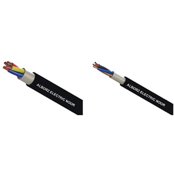 کابل های انعطاف پذیر البرز الکتریک نور