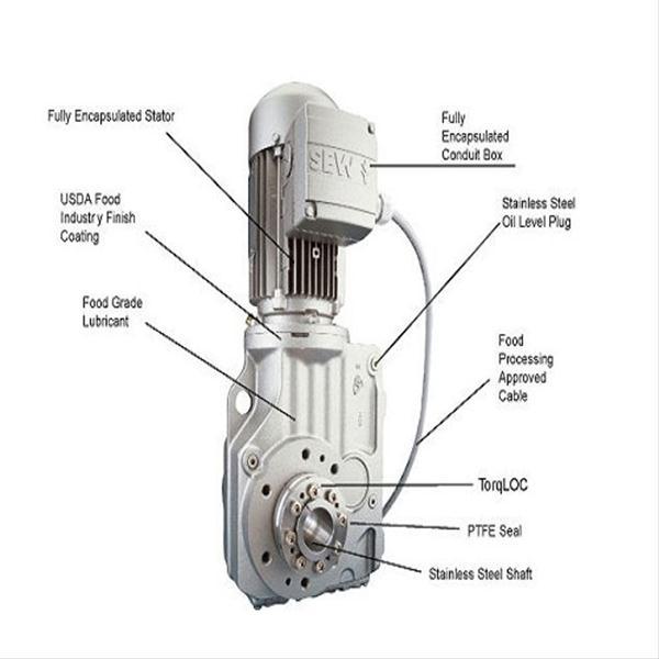 موتور گیربکس کران ویل پینیوم SEW ( اس ای دبلیو )