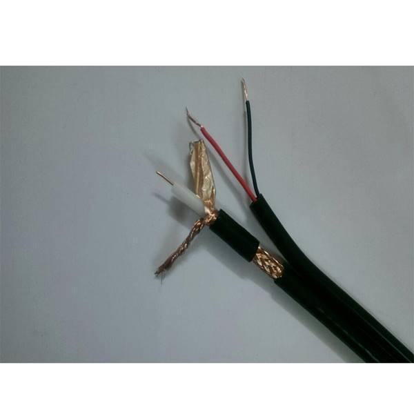 کابل RG59 ترکیبی برق CCA