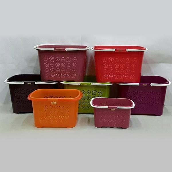 سبد خرید های گلنوش در رنگبندی و بسته بندی الوان