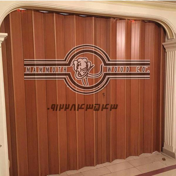 درب تاشو چوبی