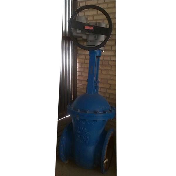 شیر کشویی 16 اینچی با موتور AUMA