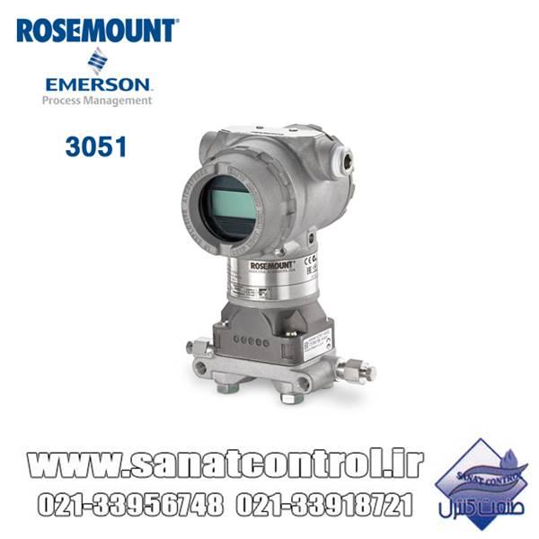 ترانسمیتر فشار روزمونت Rosemount
