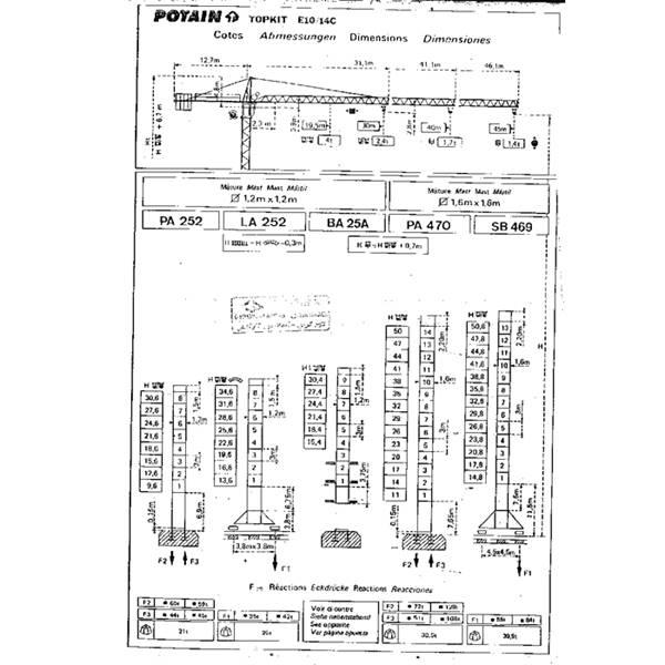 تاورکرین E10-14C