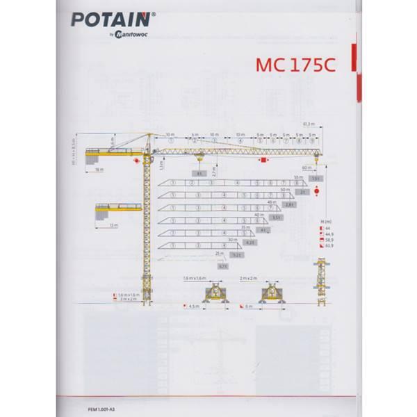 تاور کرین MC175