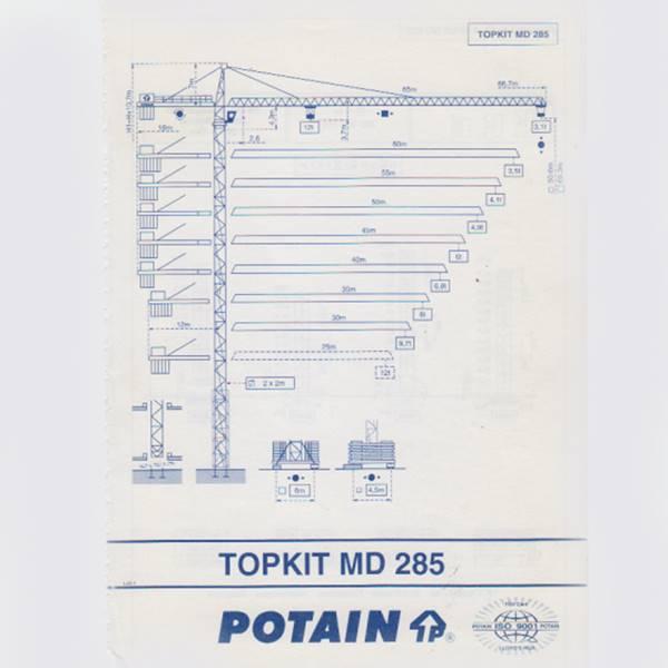 تاور کرین MD285