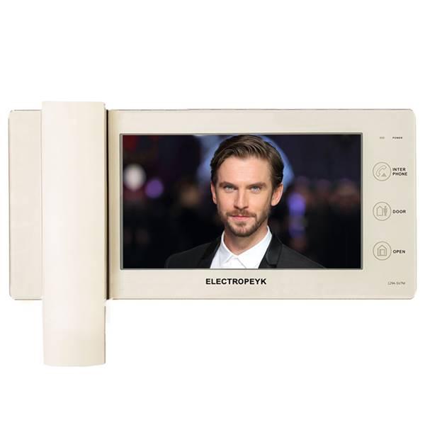 دربازکن تصویری الکتروپیک مدل 7 اینچ لمسی 1294 سفید