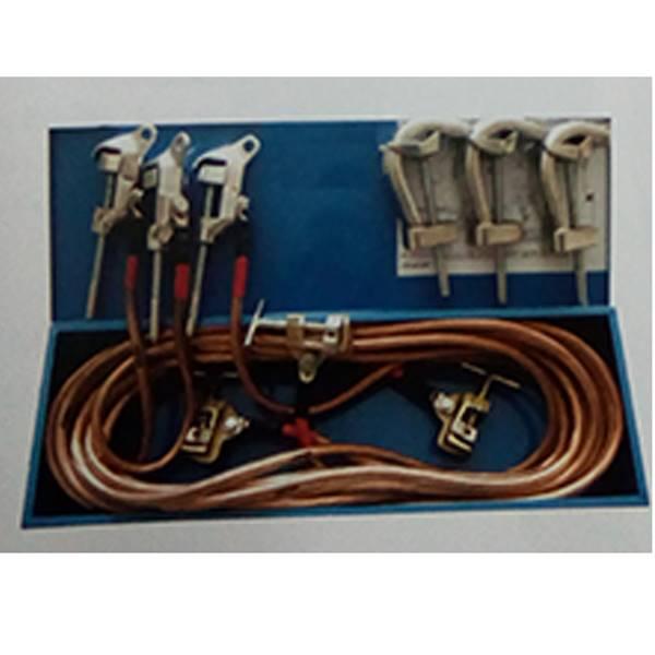سیستم ارت موقت 63kv تا 230kv ، 400kv