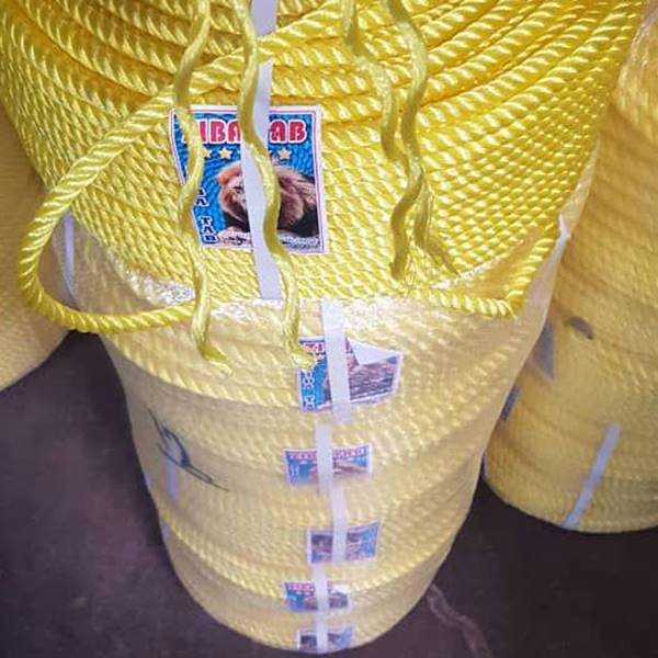 طناب پلاستیکی چهار رشته ای