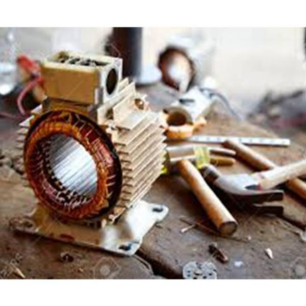 تعمیرات الکتروموتور تک فاز